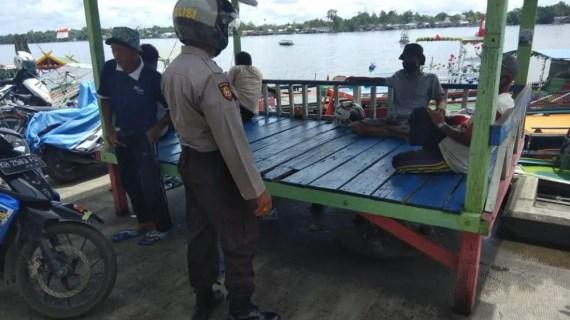Polsek KPM Imbau Motoris Taxi Air Agar Utamakan Keselamatan Penumpang
