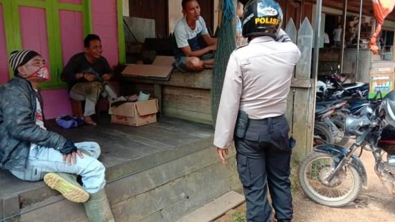 Polsek Mentaya Hulu Gencar Patroli Dialogis di Kuala Kuayan