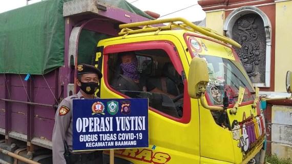Polsek Baamang Rutin Melaksanakan Operasi Yustisi