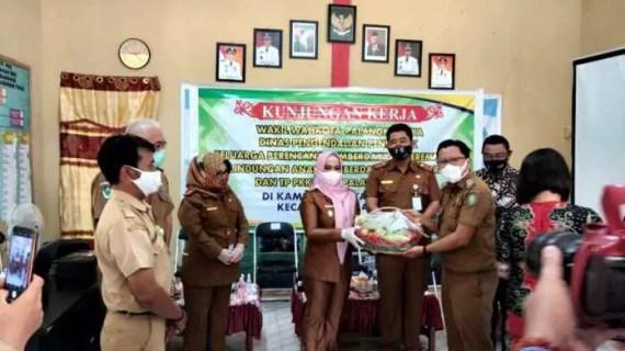 Wakil Wali Kota Palangka Raya Kunjungan Kerja Ke Kampung KB Percontohan