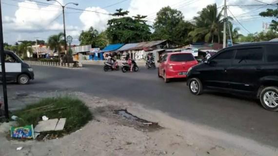 "Simpang ""Maut"" Jalan Tjilik Riwut Diminta Segera Ditutup!"