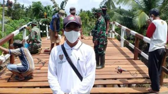Warga Bersyukur Atas Program TMMD di Desa Bapinang Hilir