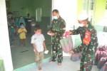 Gelar Doa Bersama Anak Yatim, Satgas TMMD Ucapkan Rasa Syukur Kepada Allah