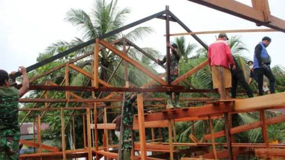 TMMD Bantu Tingkatkan Kesejahteraan Masyarakat Pulau Hanaut