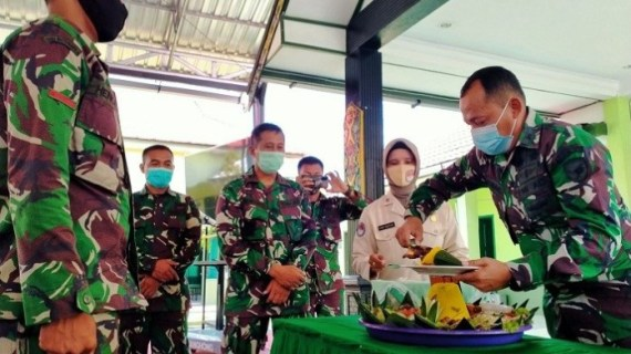 Kodim 1015-Sampit Peringati HUT Ke 75 TNI