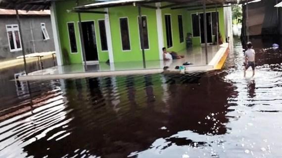 Banjir kiriman rendam permukiman dan lahan pertanian di Kotim