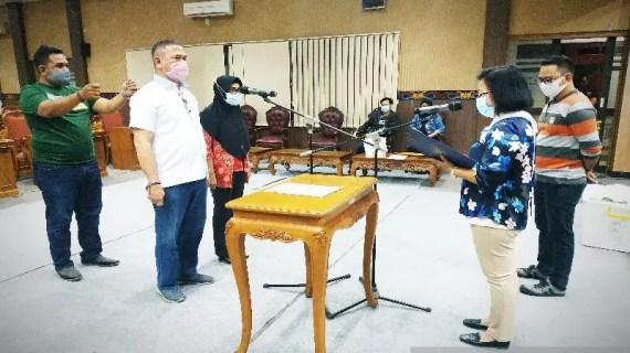 Ardiansyah dan Mariani siap dilantik jadi PAW anggota DPRD Kotim