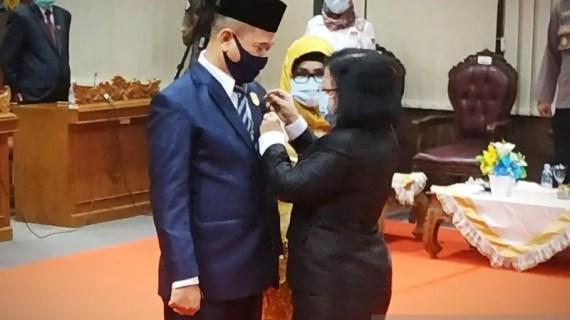 Resmi jadi anggota DPRD Kotim, Ardiansyah dan Mariani diminta cepat beradaptasi