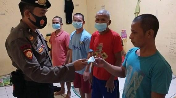 Secara Intern Polsek Antang Kalang Fokuskan Prokes Terhadap Tahanan