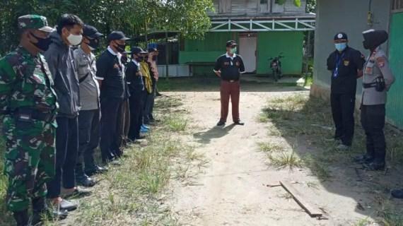 Polsek Sungai Sampit Kawal Penertiban APS
