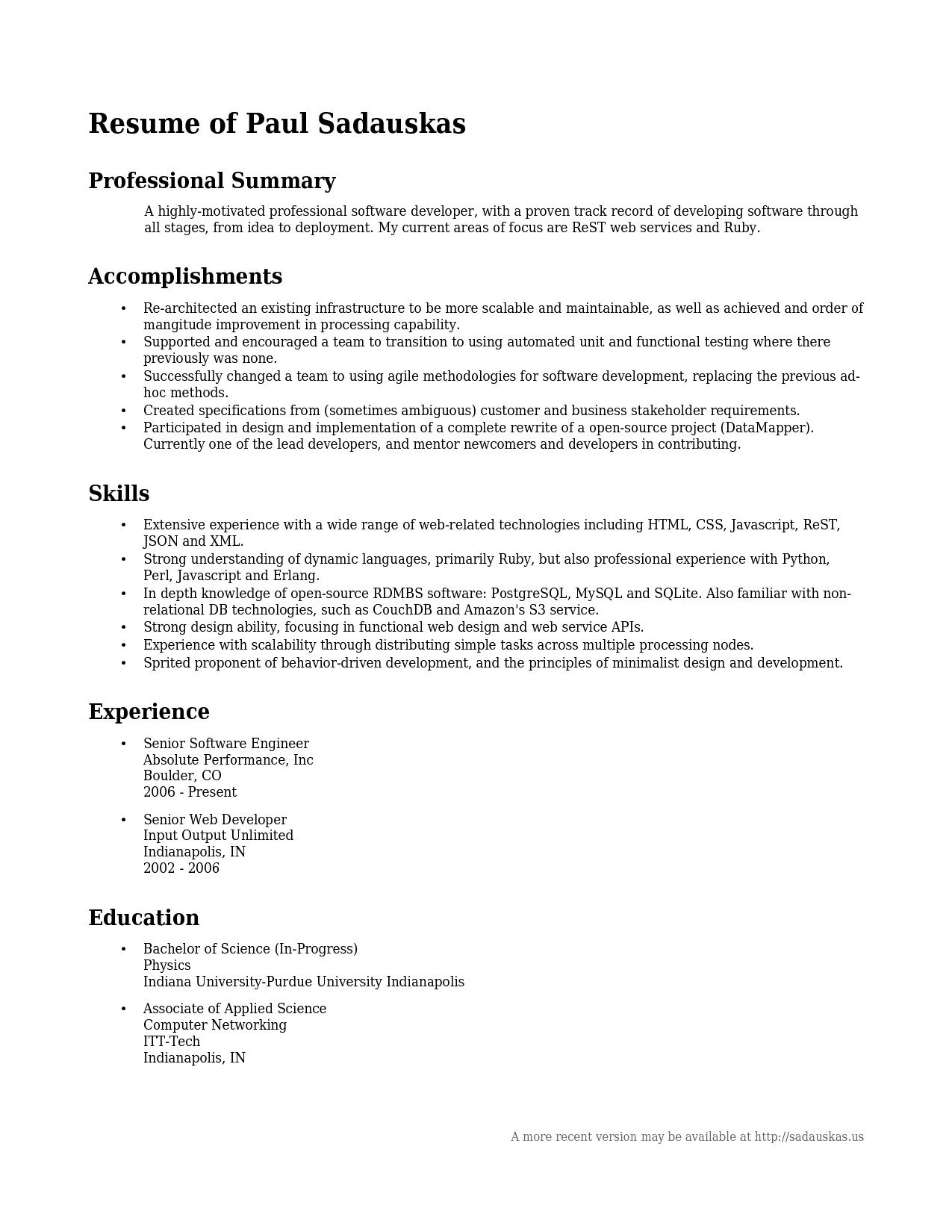 Good It Resume Examples A Good Summary For A Resume