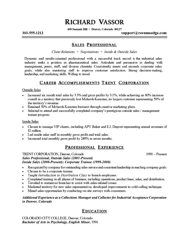 Examples Of Summaries For Resumes How To Write A Resume Summary