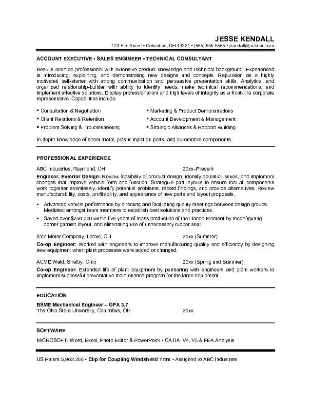 Career Focus Examples For Resume