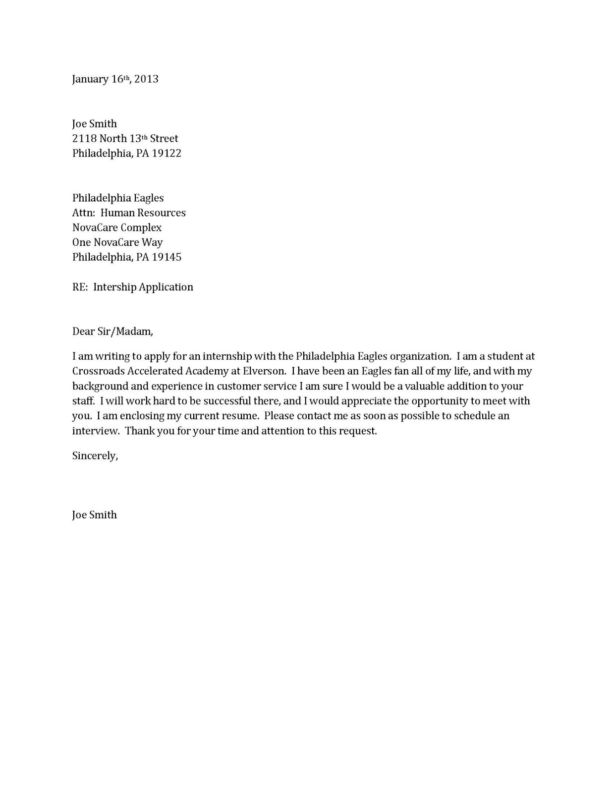 Free Cover Letter Examples For Resume Examples Of Resumes
