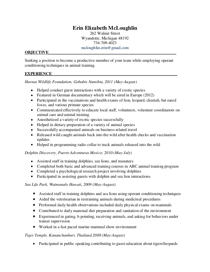 Dietary Aide Job Description For Resume