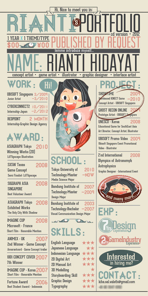 16 Examples of Creative Graphic Designer Resume ...