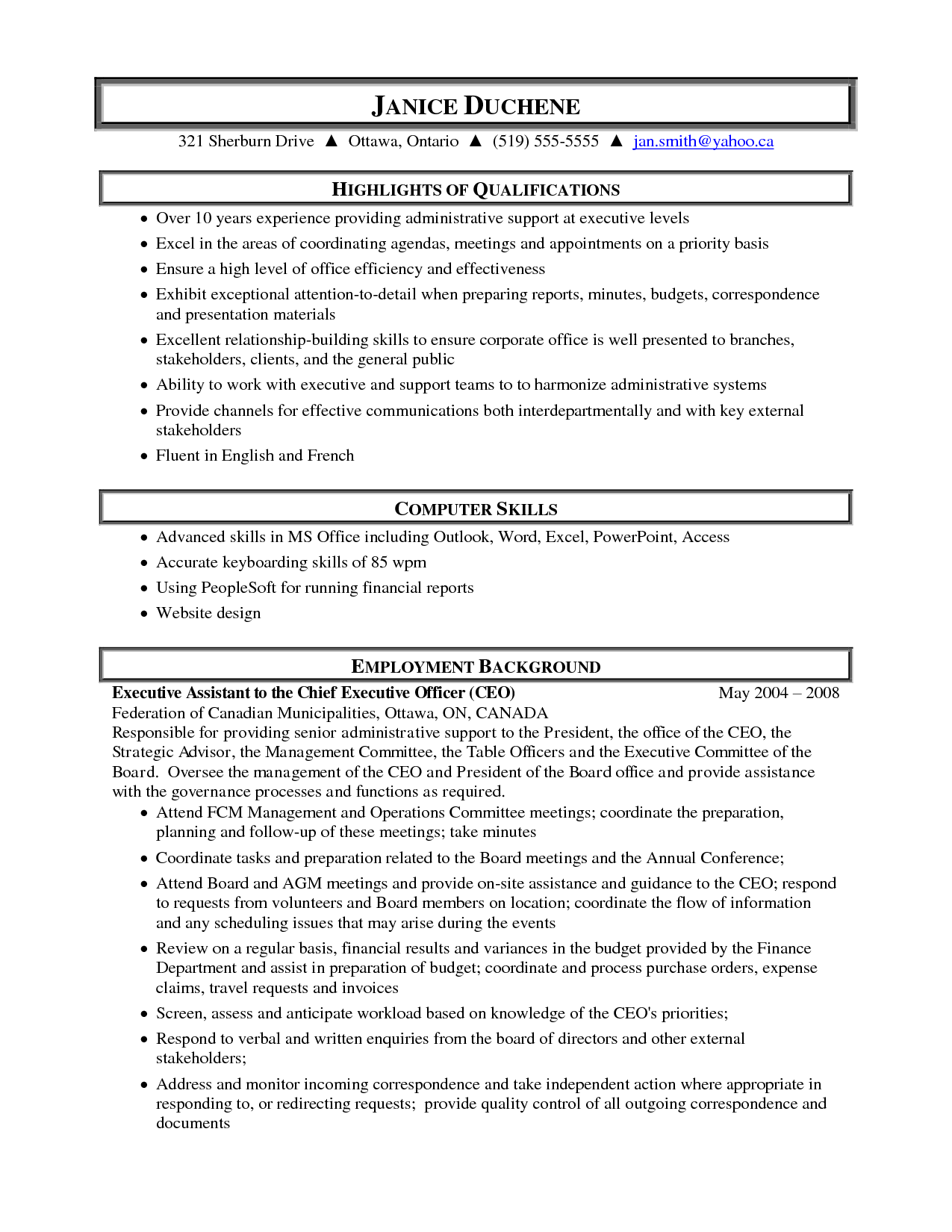Qualifications Resume Sample Medical Administrative Assistant Resume Samples Highlight