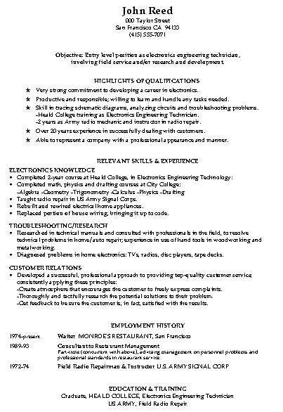 warehouse resume examples templates