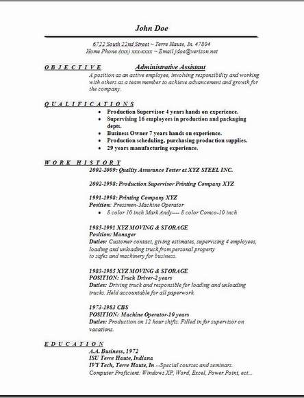 Sample Resume For Office Assistant Position. 10 Entry Level Administrative  Assistant Resume Templates Free .