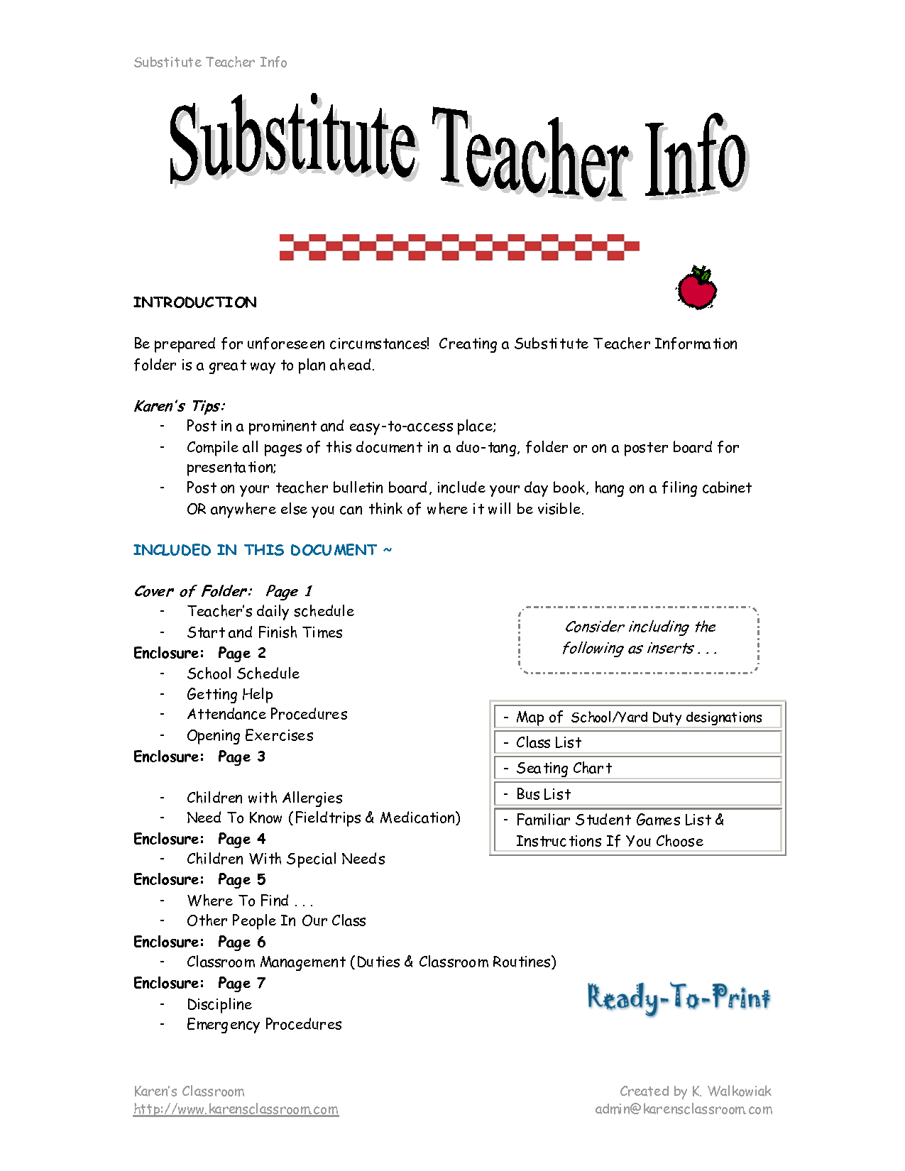Job Description For Substitute Teacher For Resume 2016 Substitute Teacher Job Description