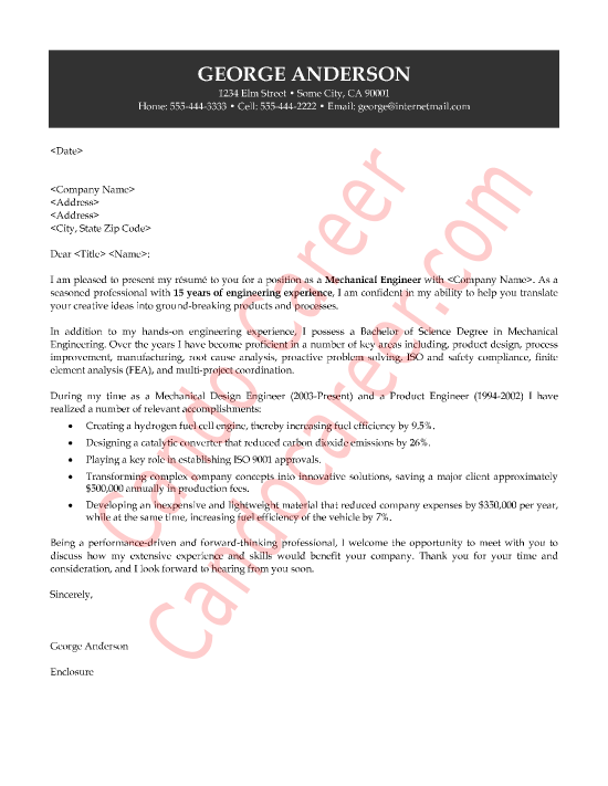 Mechanical Design Engineer Cover Letter Research Paper Help