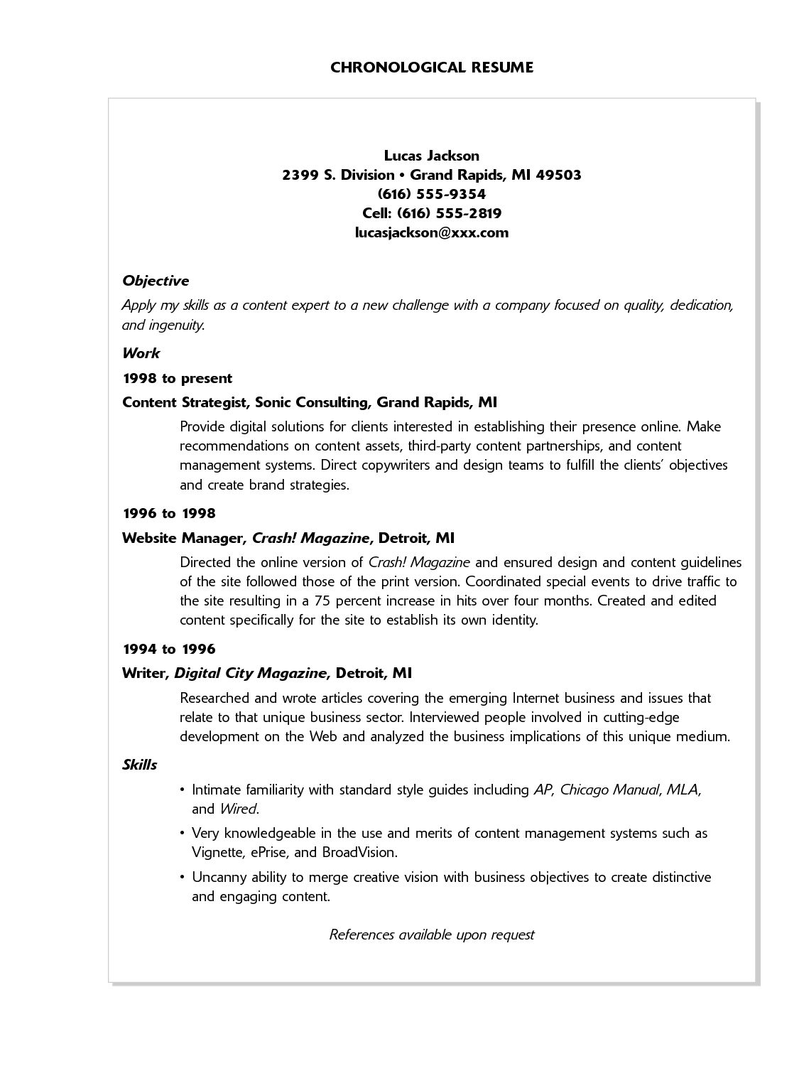Sample Resume For Experienced Lecturer In Computer Science Computer Science Resume Templates Samplebusinessresume
