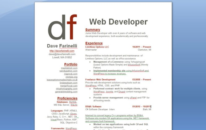 good software developer resume resume sample