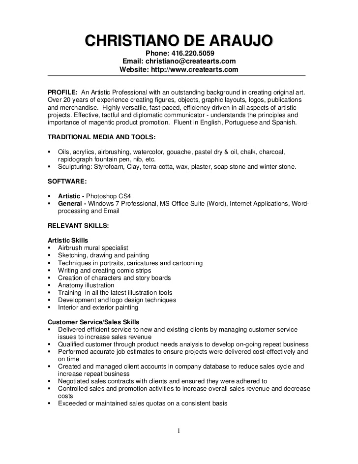 resume examples for industrial construction