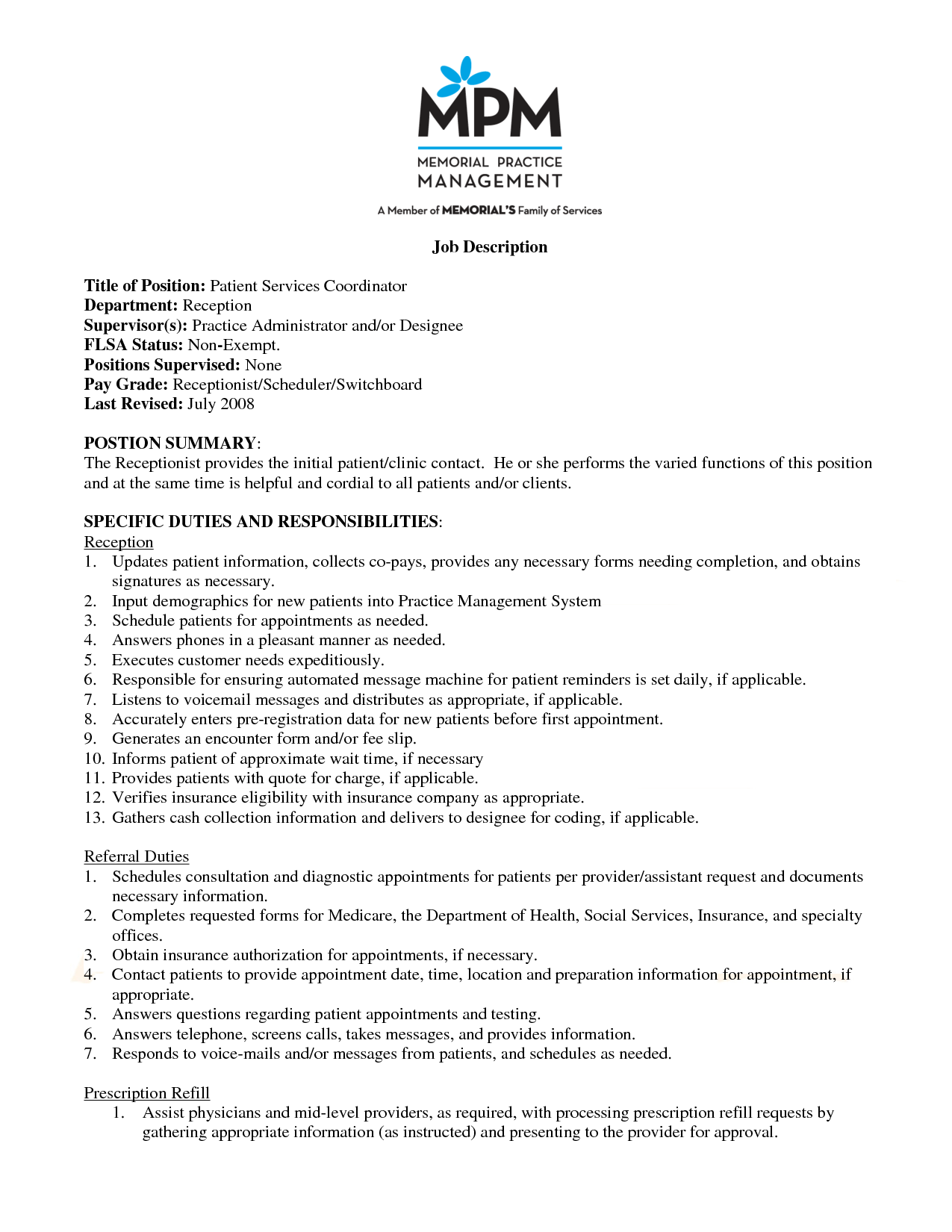 Perfect Wellness Coordinator Cover Letter With Additional Free Download