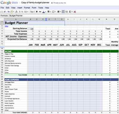 Google Accounting Journal Template Excel