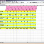 free excel budget template bill tracking spreadsheet template ...