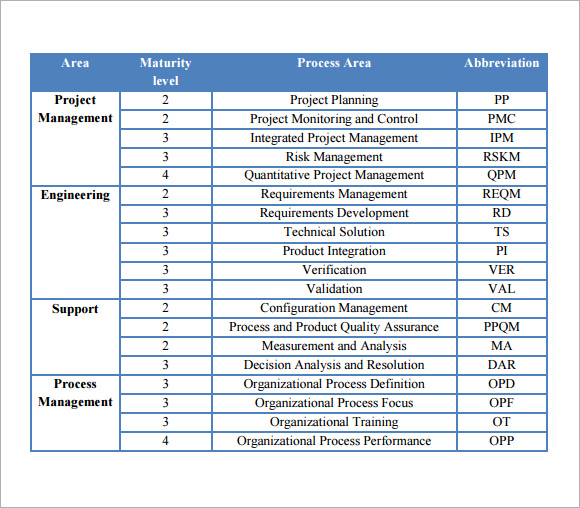Marketing Project Issue Tracking Template Word