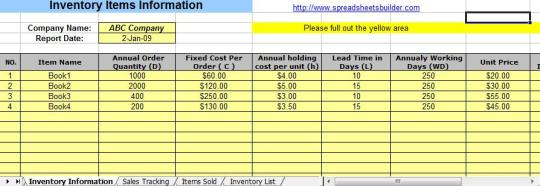 Retail Inventory And Sales Manager Excel Template