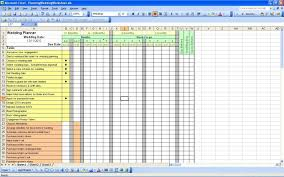 Best Wedding Spreadsheet - SampleBusinessResume.com ...