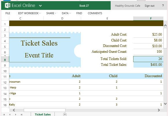 raffle ticket tracking spreadsheet  SampleBusinessResumecom  SampleBusinessResumecom
