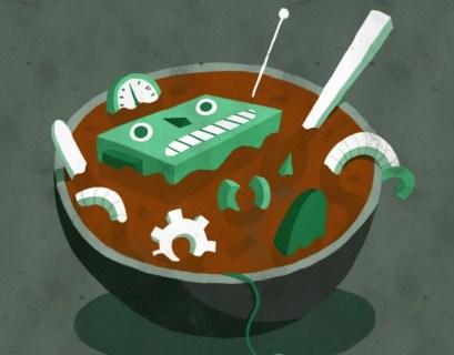 Potholes Music - Robot Soup