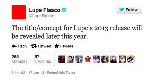 Lupe Fiasco tweets 2/3