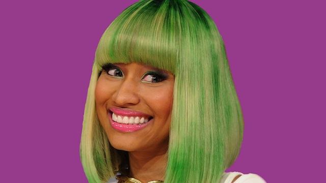 nicki-minaj-green-hair