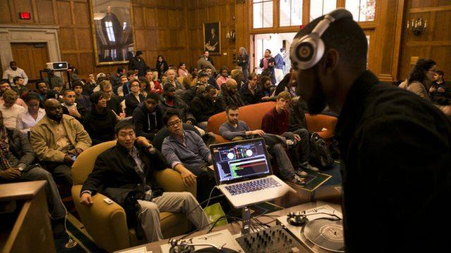 9th Wonder at Harvard - one of many hip hop forays into academic circles