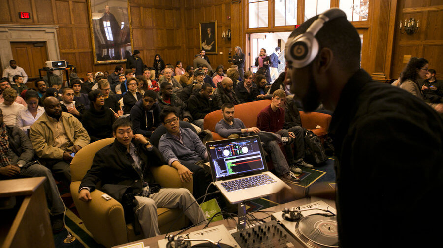 9th Wonder at Harvard - one of many hip hop forays into academic circles