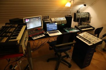 studio set up
