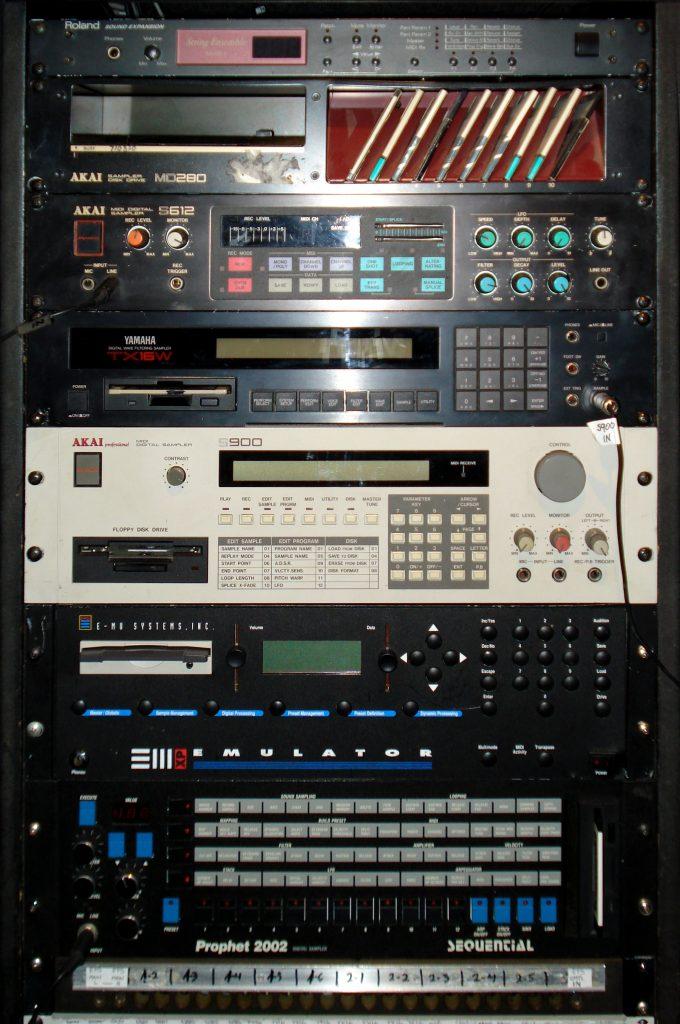sampler rack