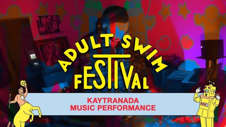 Kaytranada's DJ Set for Adult Swim Festival 2020