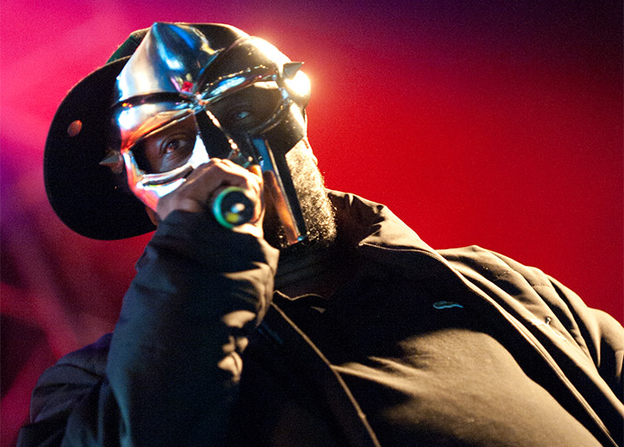 MF DOOM on the mic