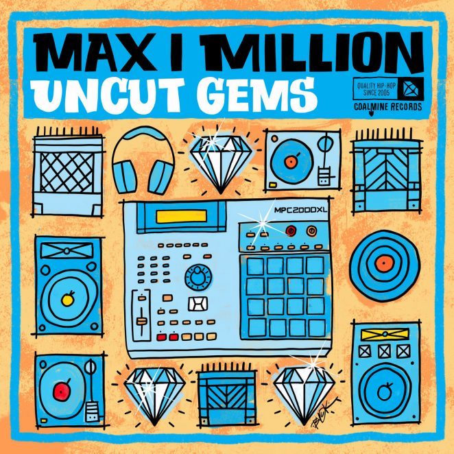 Max I Million – Uncut Gems album cover