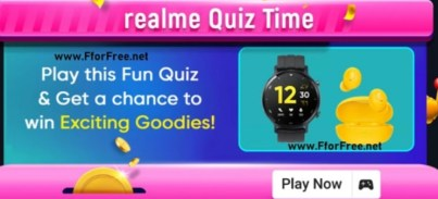 Win Realme TV and Smartwatches