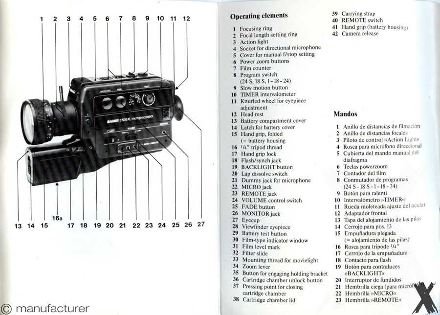 Bauer S609XL Microcomputer