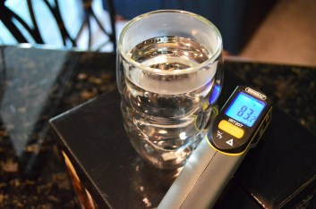 Ozeri Serafino Glass with 140 degree water