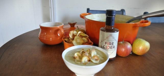 Recipe: Vegan Parsnip & Apple Soup