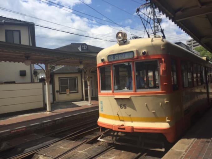 松山 路面電車